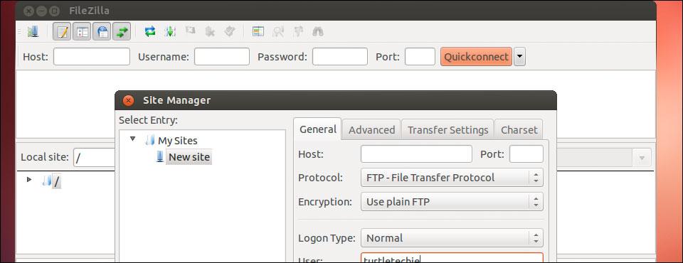 """Как перенести настройки """"Менеджера сайтов"""" в Filezilla?"""